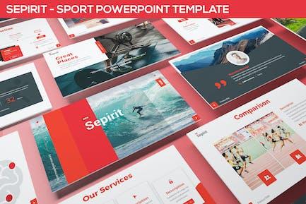 Sepirit - Sport Powerpoint Template
