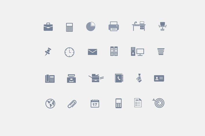 Thumbnail for 24 Office Icons