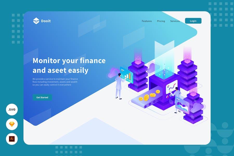 Priority Scale - Website Header - Illustraton