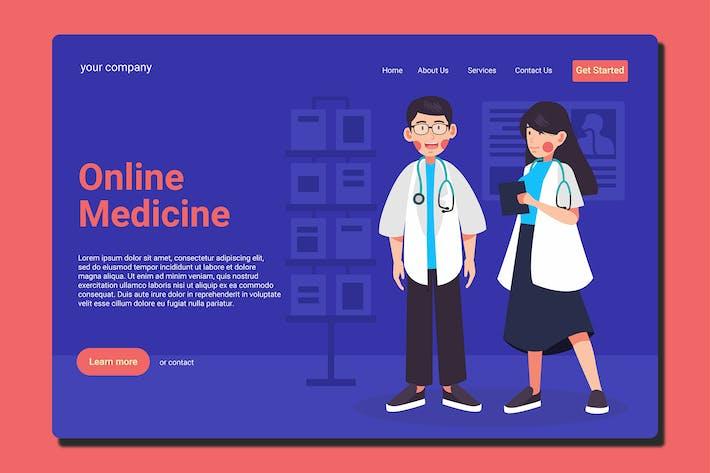 Thumbnail for Medizinischer Doktor - Landingpage