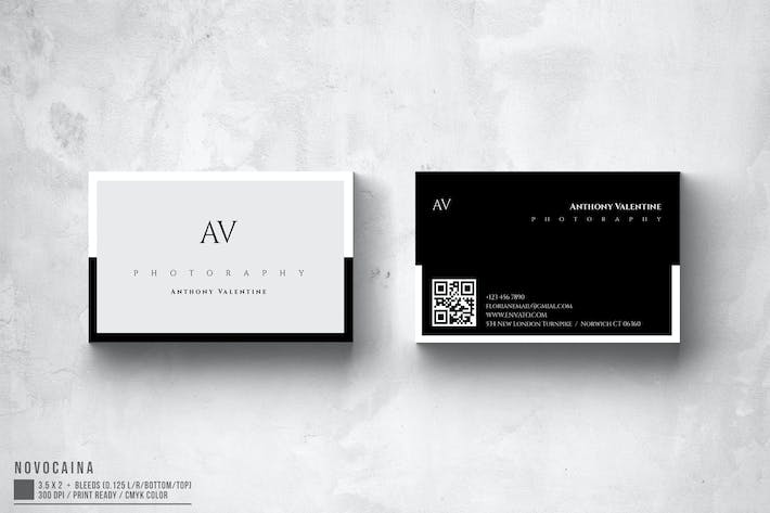 Thumbnail for Multipurpose Minimal Business Card V1
