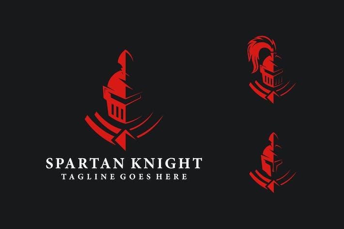 Thumbnail for SPARTAN KNIGHT LOGO TEMPLATE