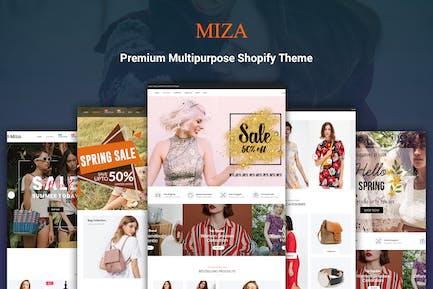 Miza - Moda Bootstrap 4 Shopify Tema