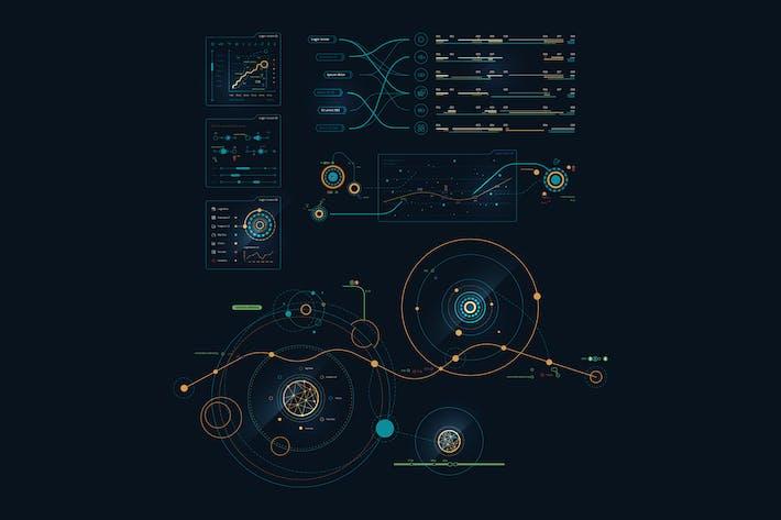 Thumbnail for Vektor Infografiken über Raum und Planeten