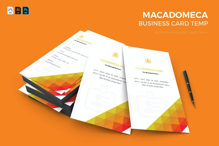 Thumbnail for Mecadomeca | Business Card