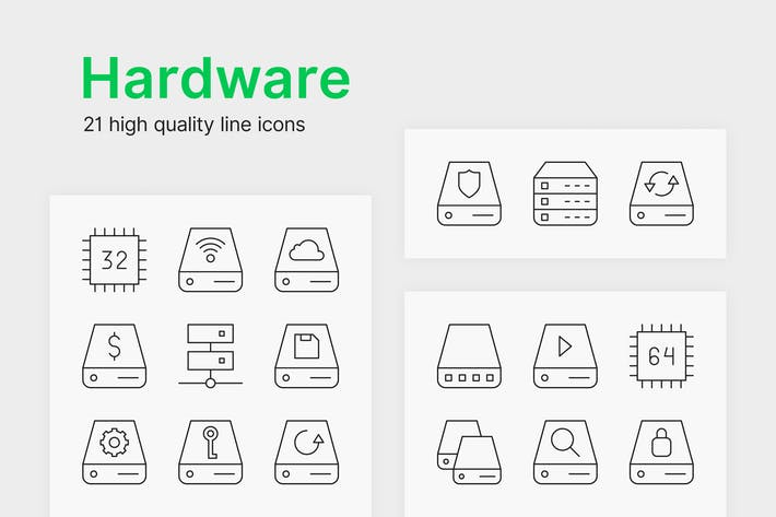 Thumbnail for Hardware Icons
