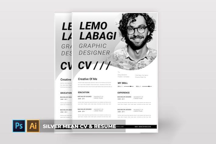 Silver Mean | CV & Resume