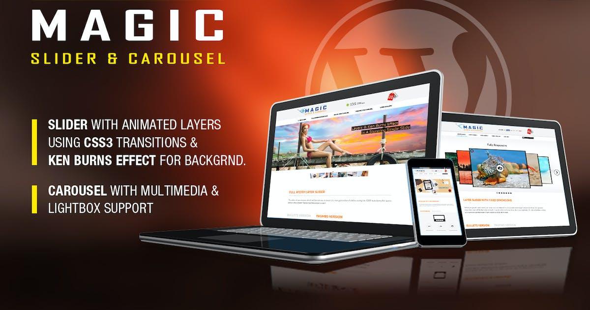 Download Magic Responsive Slider and Carousel - WP Plugin by LambertGroup