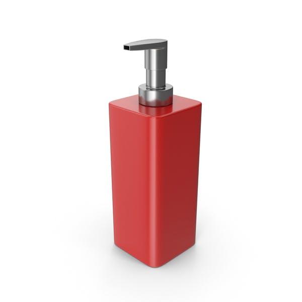 Thumbnail for Soap Dispenser Red