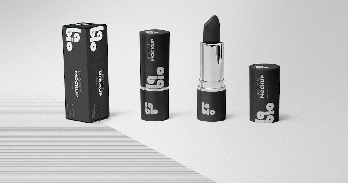 Download Matte Lipstick Mockups by zippypixels