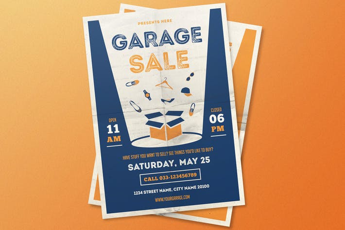 Thumbnail for Garage Sale Flyer