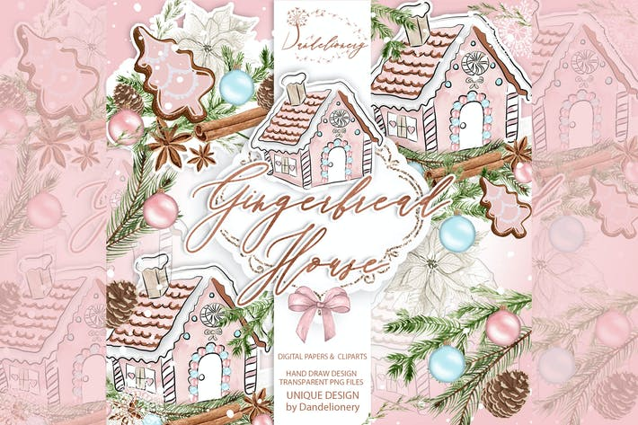 Thumbnail for Gingerbread House design