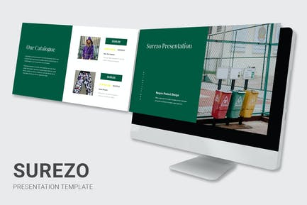 Surezo - Recycle Products Powerpoint