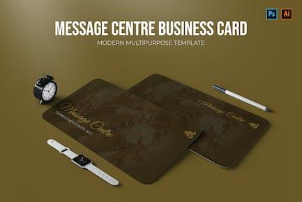 Massage Centre - Business Card