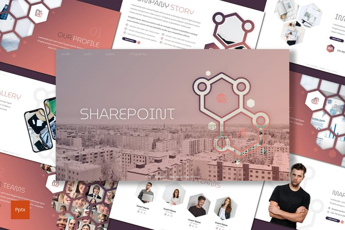 Sharepoint Creative Powerpoint Template by inspirasign