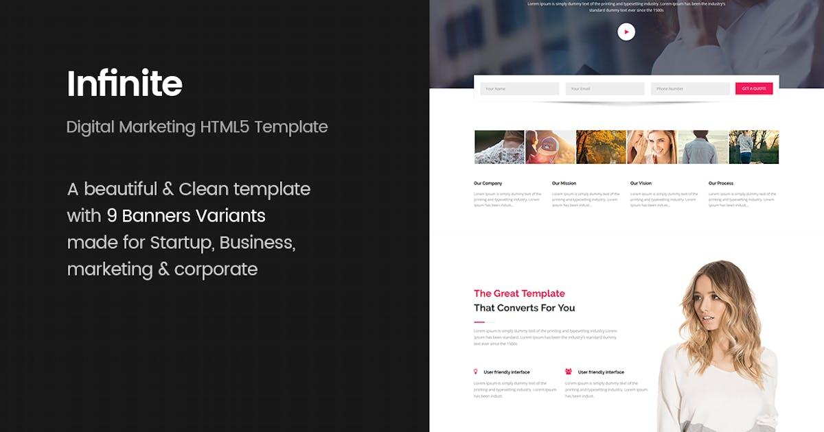 Download Infinite - Digital Marketing HTML5 Template by MarkhorThemes