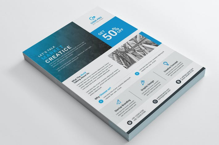 Thumbnail for Business Flyer Template 06