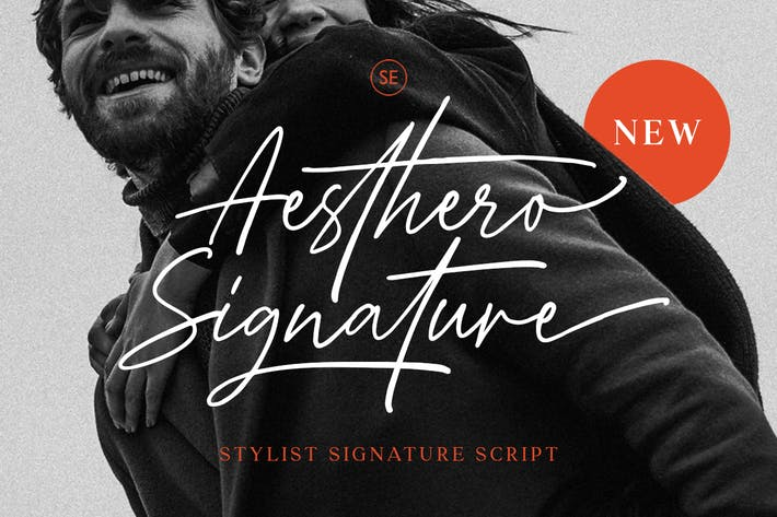 Thumbnail for Aesthero - Stylish Signature Script