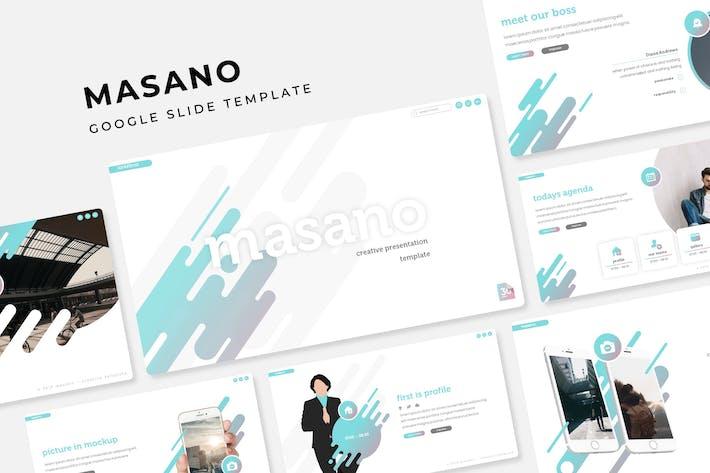 Thumbnail for Masano - Google Slide Template