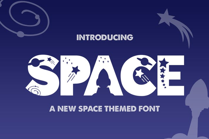 Thumbnail for The Space Font