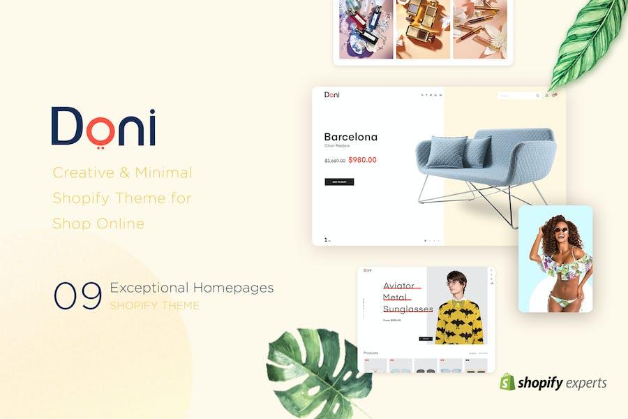 Doni | Minimalist Shopify Theme