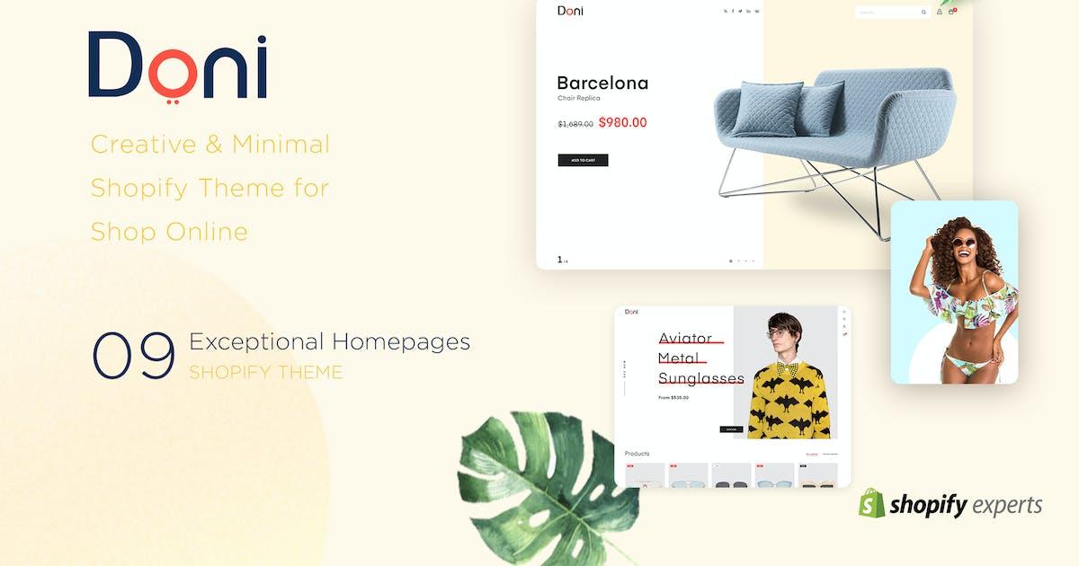 Download Doni | Minimalist Shopify Theme by EngoTheme