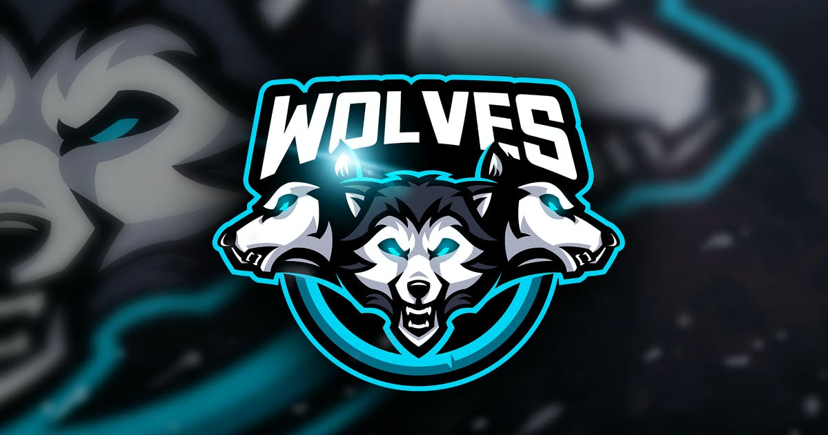 Download Wolves -  Mascot & Esport Logo by aqrstudio