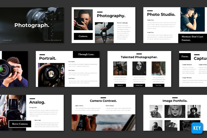 Photography - Keynote Template