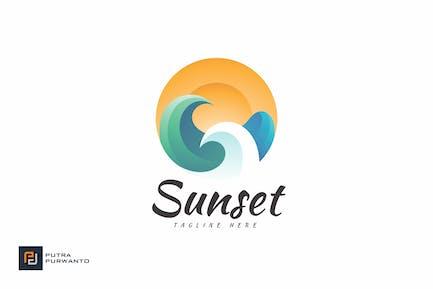 Sunset - Logovorlage