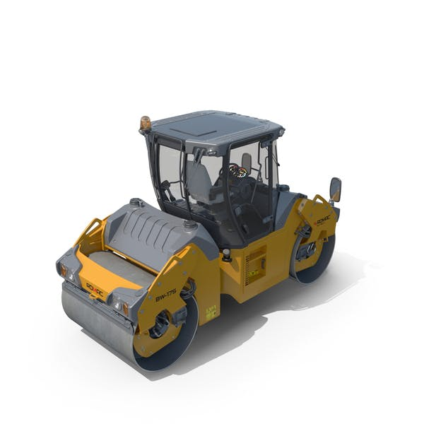 Thumbnail for Articulated Tandem Road Roller Generic