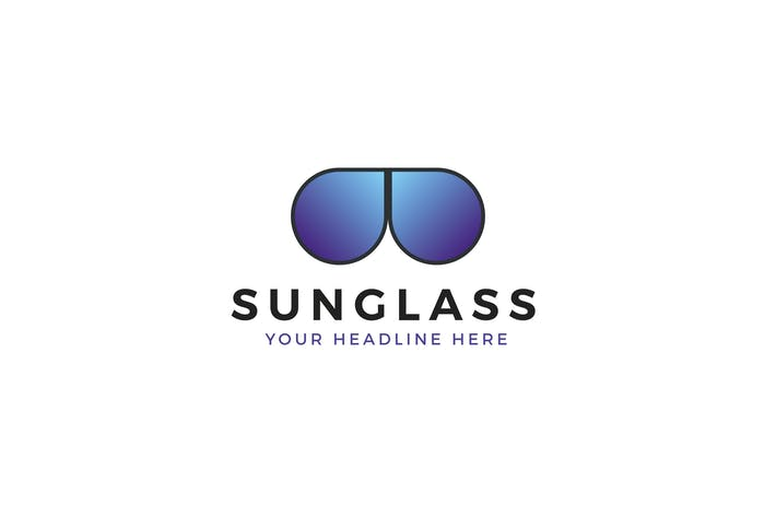 Cover Image For Sunglass Logo Template