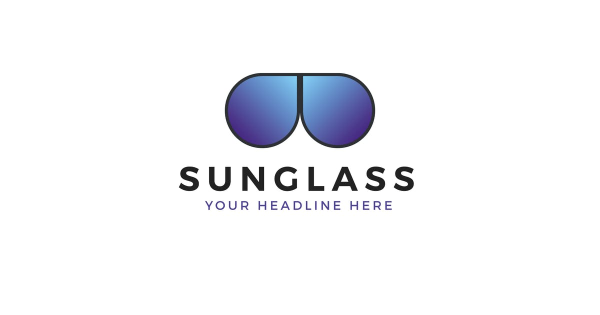 Download Sunglass Logo Template by MuseFrame