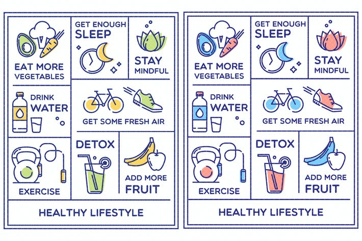 Thumbnail for Healthy Lifestyle Poster