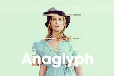 Anaglyph / Glitch Photo FX