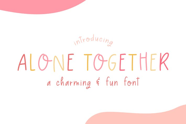 Thumbnail for Alone Together Font