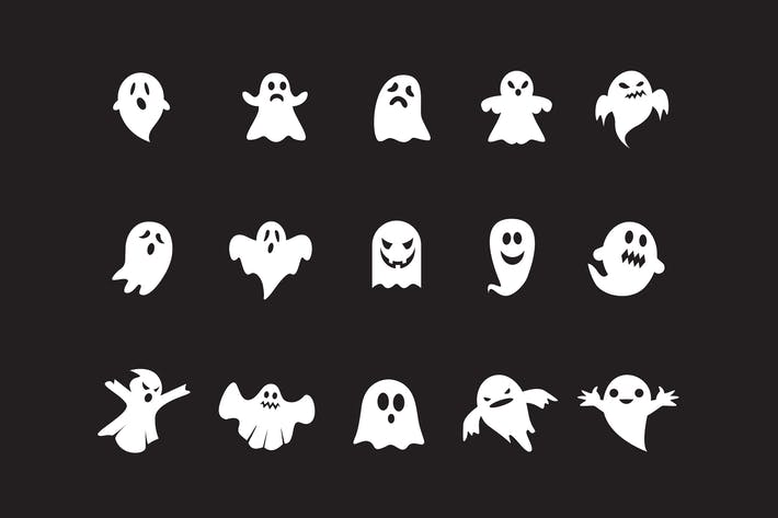 Thumbnail for 15 Ghost Icons