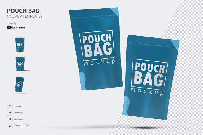 Thumbnail for Pouch Bag - Mockup FH
