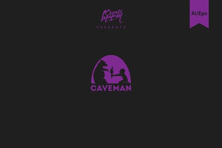 Caveman Logo Template