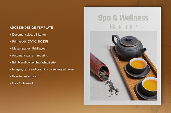 Thumbnail for Spa and Wellness Brochure Template
