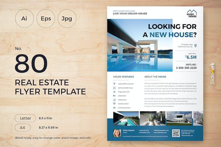 Real Estate Flyer Template 80 - Slidewerk