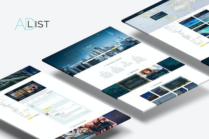 Thumbnail for Adlist — Plantilla de listado de directorios Multifunción