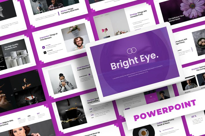 Cover Image For Bright Eye - Powerpoint Template