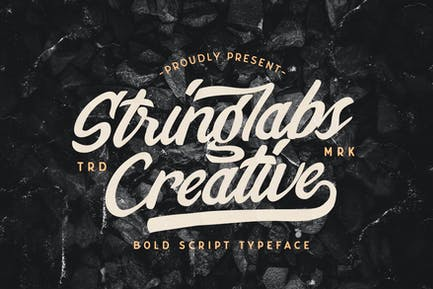 Stringlabs Creative - Police de caractères gras