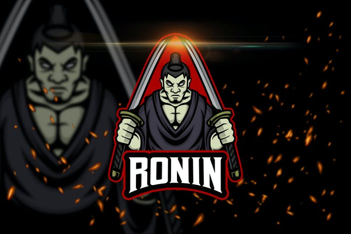 Thumbnail for Ronin - Esport & Mascot Logo Template