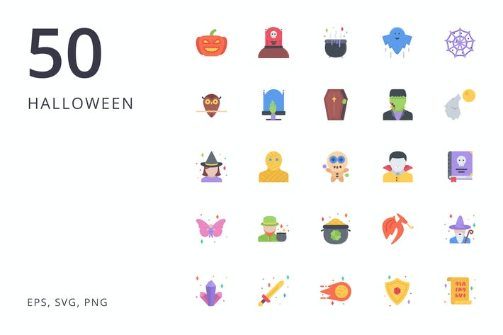 Thumbnail for the halloween icons 50