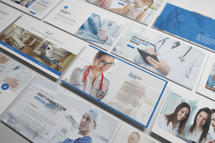 Thumbnail for Medical and Health Care Powerpoint Template