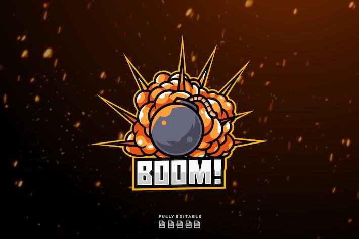 Thumbnail for Boom - Mascot & Esport Logo