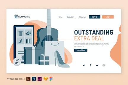 Great Sale  - Web Illustration