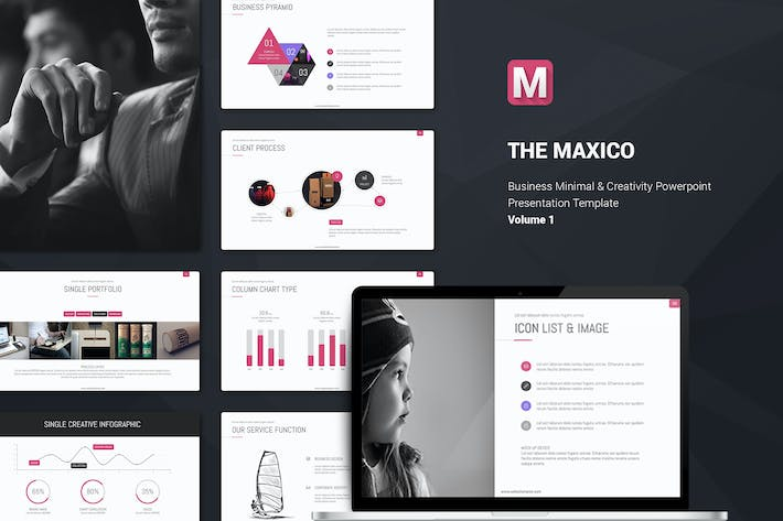 Thumbnail for Maxico Presentation Template