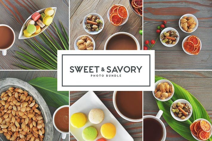Thumbnail for Sweet & Savory - Stock Photo Bundle